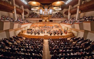 Concert with the Madrid Symphony Orchestra at the National Auditorium in Madrid