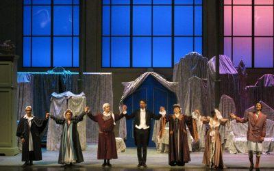 """Cimarosa's Opera """"Il Matrimonio Segreto"""" in the Teatro Comunale of Ferrara (Italy)"""