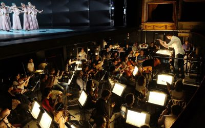 Montaño with the Spanish National Ballet and the Orquesta de la Comunidad of Madrid in the Teatro de la Zarzuela