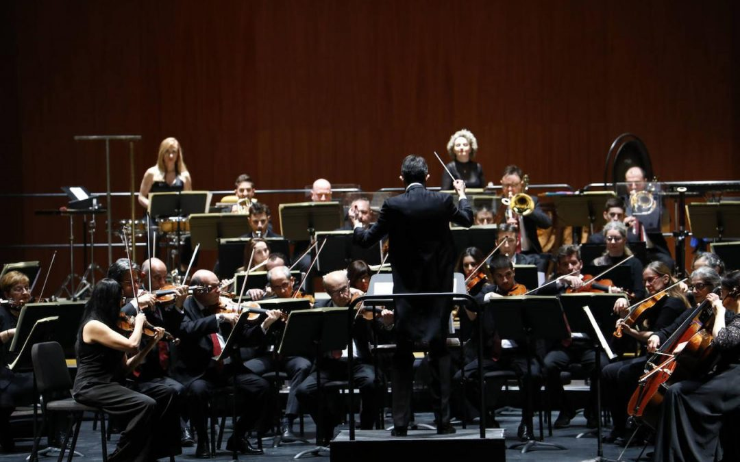 José Antonio Montaño Conducts the Orchestra of Córdoba in a New Year´s Concert