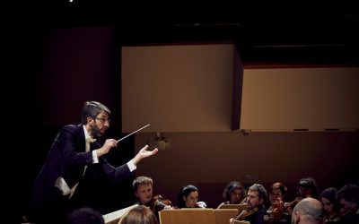 "Montaño conducts the Concert ""Baroque Europe"": Bach, Vivaldi and José de Nebra"
