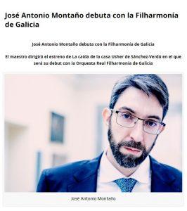 Beckmesser José Antonio Montaño Real Filharmonía de Galicia