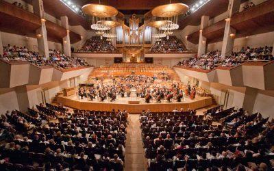 Concierto con la Orquesta Sinfónica de Madrid en el Auditorio Nacional de Música de Madrid