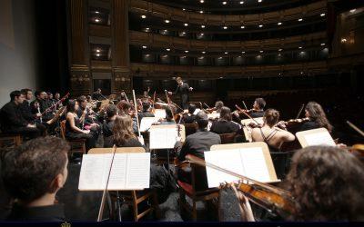Concierto en el Auditorio Nacional de Música de Madrid con la OE de la Orquesta Sinfónica de Madrid