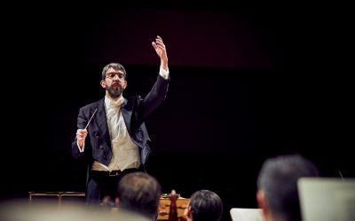 José Antonio Montaño con La Madrileña en el Auditorio Nacional de Música de Madrid