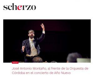 Scherzo José Antonio Montaño Orquesta de Córdoba