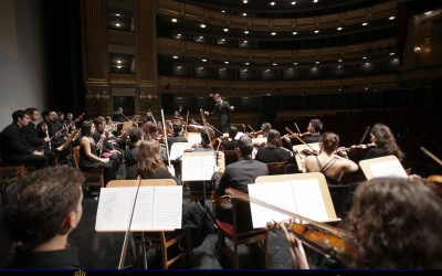 Concert in the National Auditorium in Madrid with the Madrid Symphony Orchestra OE