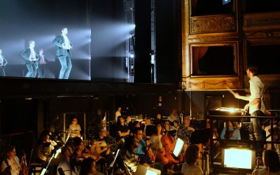 "World premiere of ""Zaguán & Alento"" at Teatro de la Zarzuela, a Spanish National Ballet production"