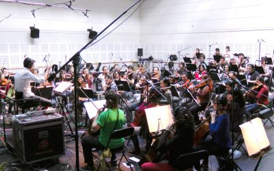 """Recording of """"Suite Sevilla"""" for the Spanish National Ballet"""
