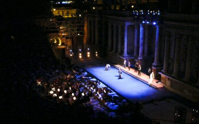 """""""Medea"""" with the Spanish National Ballet and the Orchestra of Extremadura in the Ancient Roman Theater of Mérida"""