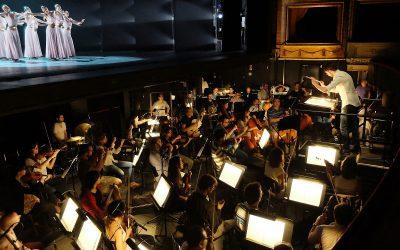 Montaño with the Spanish National Ballet and the Orquesta de la Comunidad of Madrid in the Teatro de la Zarzuela