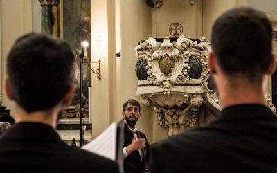 Montaño conducts the Requiem by José Nebra with La Madrileña, Victoria Choir and Schola Antiqua