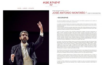 José Antonio Montaño will be represented  in france and other french-speaking countries by the Music et Talent agency
