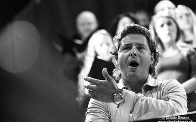Grabación con la Orquesta Sinfónica de Madrid y el tenor Dmitry Korchak