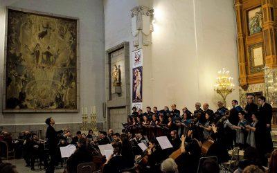 Concierto con la OE de la Orquesta Sinfónica de Madrid y el Coro de Cámara de Madrid