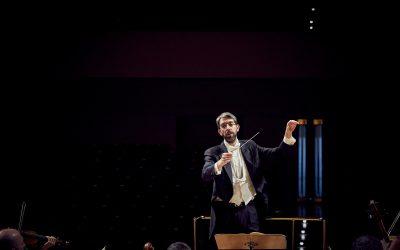 Montaño dirige a la Orquesta Sinfónica de la Escuela Superior de Música de Alto Rendimiento